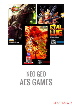 Huge selection of Neo Geo AES Games