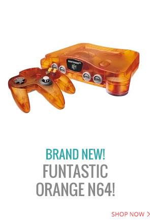 One of the rarest N64 Funtastic colors to find, Funtastic Orange N64