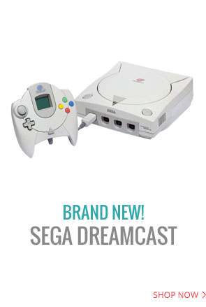Sega Dreamcast system are available in Brand New condition