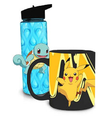 Quench your thirst with cups, mugs, and water bottles!