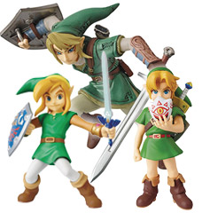 Collect Three Ultra Detail Zelda Figures!