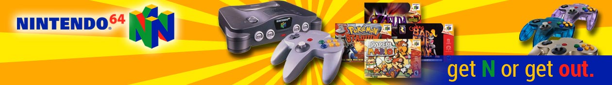 Buy and sell used Nintendo 64 games and systems