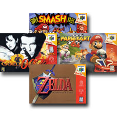 List of popular N64 games