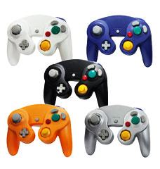 Gamecube Controllers in a multitude of Colors!
