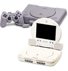 Over 100 million sold! The original PlayStation console.