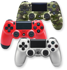 Play Better with PlayStation4 DualShock 4 controllers