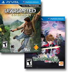 Browse Playstation Vita exclusive games