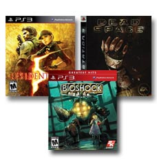 Browse Horror Games on the Playstation 3