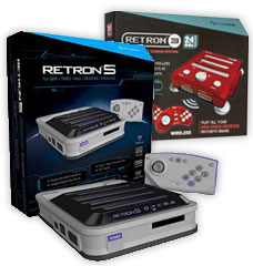 Retron 5, the 9 in 1 system