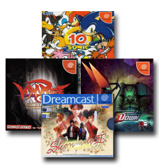 Imported Sega Dreamcast games from Japan!
