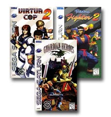 Popular Sega Saturn Exclusive Titles