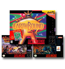 Browse Rare and Collectible SNES games