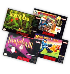 Rare and Unique SNES games