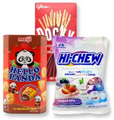 Highly addictive Japanese snacks for gamers including Hi-chew, Hello Panda and Pocky
