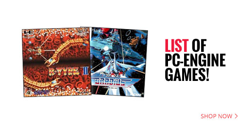 List of PC-Engine games