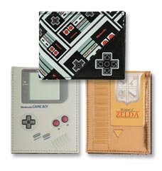 Videogame, Anime and Pop Culture Wallets!